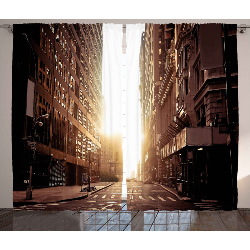 Early Morning Manhattan Curtain