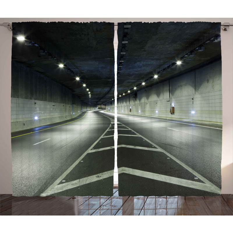 Interior Urban Tunnel Curtain