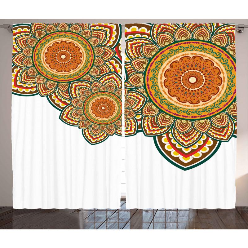 Paisley Eastern Oriental Curtain