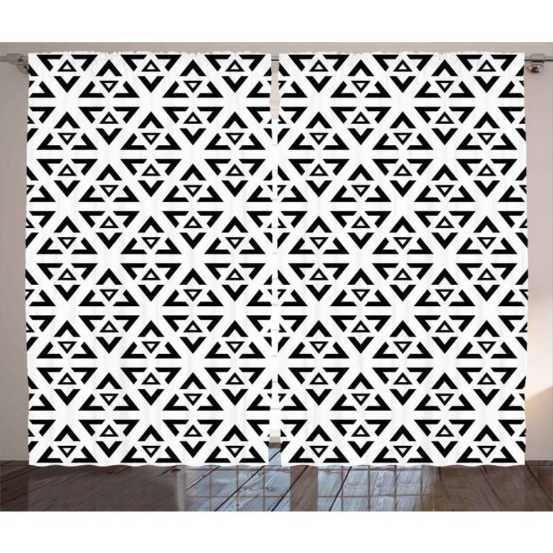 Modern Triangle Curtain