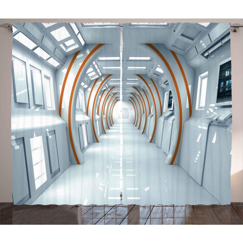 Modern Perde Uzay Koridoru