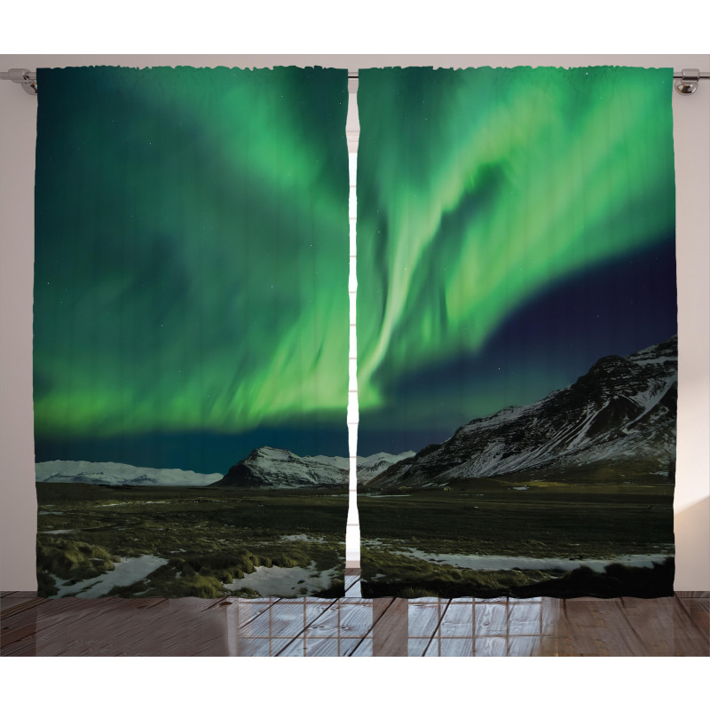 Polaris Mountain Curtain