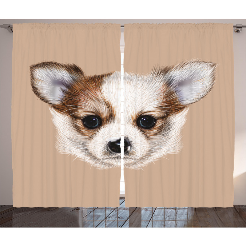 Little Furry Friend Curtain