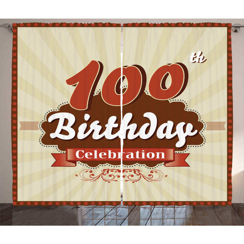 100 Old Party Invite Curtain