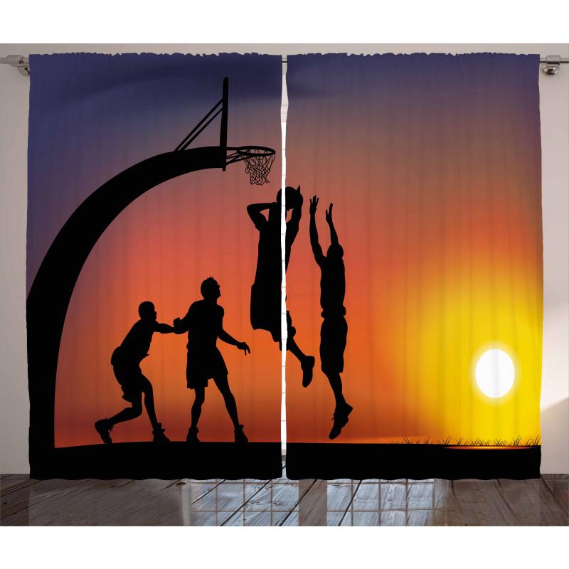 Gökyüzü Perde Smaç Basan Basketçiler