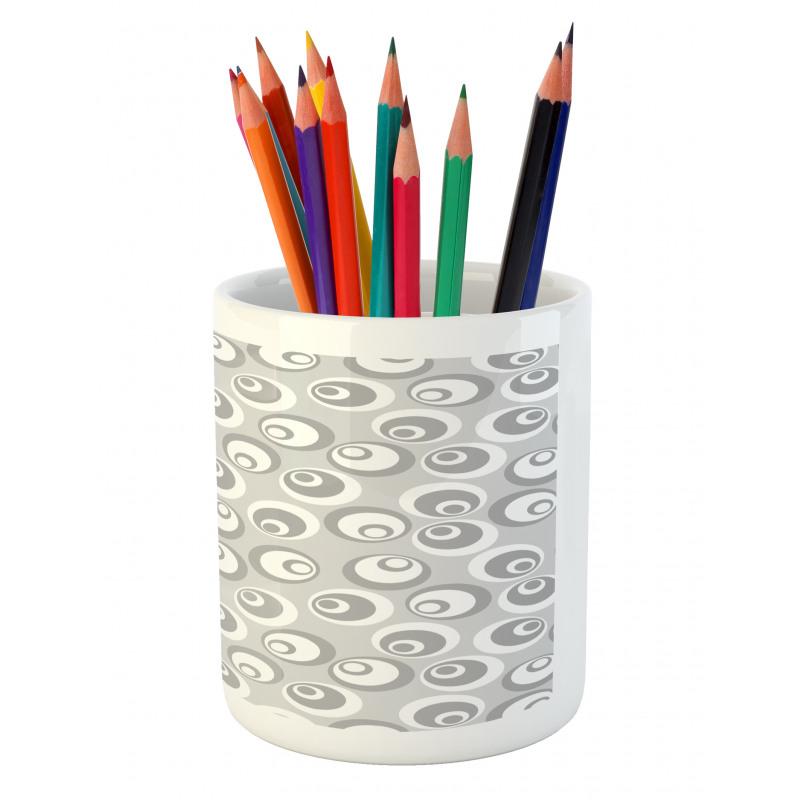 Abstract Art Modern Pencil Pen Holder