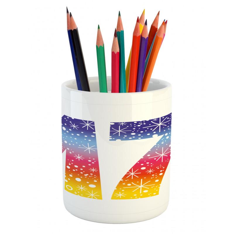 17 Party Pencil Pen Holder