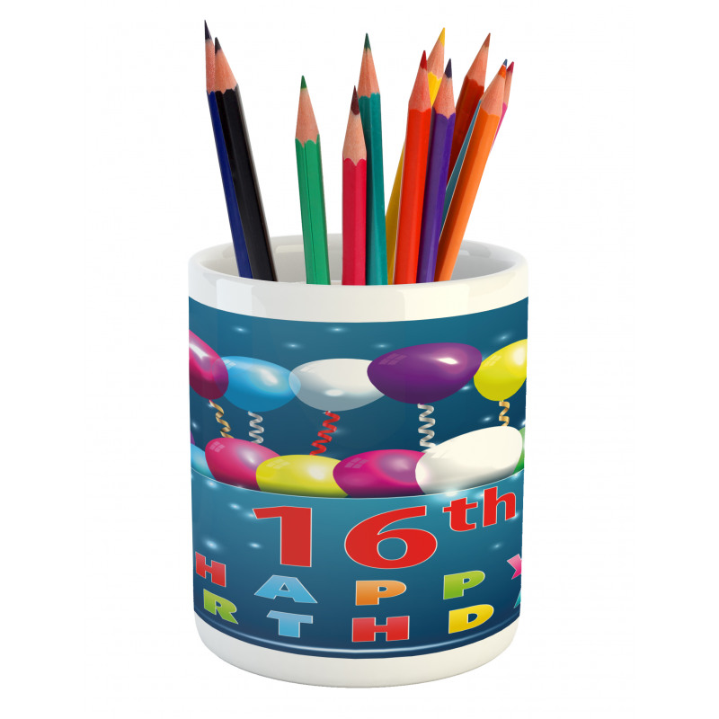 16 Party Pencil Pen Holder
