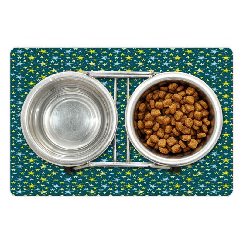 Abstract Art Modern Ornament Pet Mat