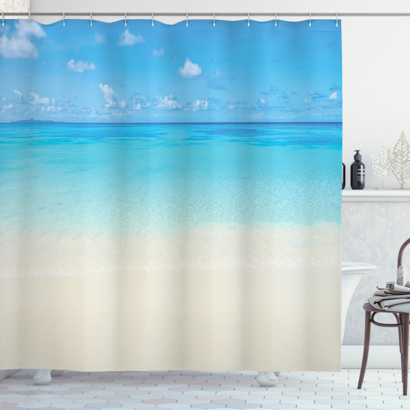 Carribean Sea Beach Shower Curtain
