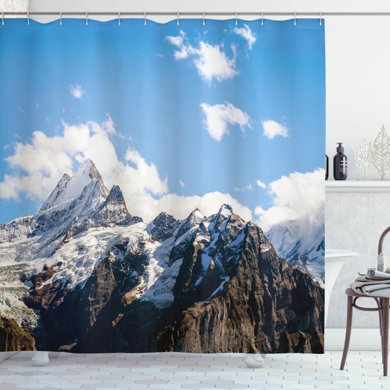 Mountain Natural Beauty Shower Curtain