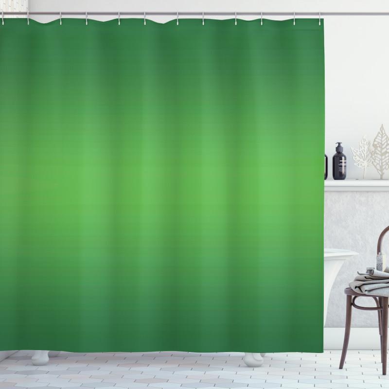 Duş Perdesi Yeşilin Coşkusu