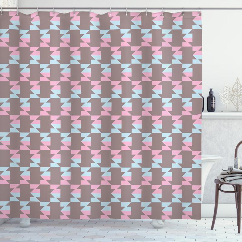 Abstract Arrow Design Shower Curtain