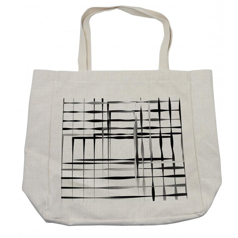 Abstract Art Geometric Shopping Bag