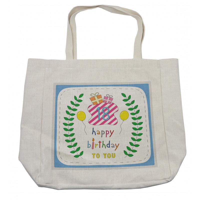 18 Birthday Shopping Bag