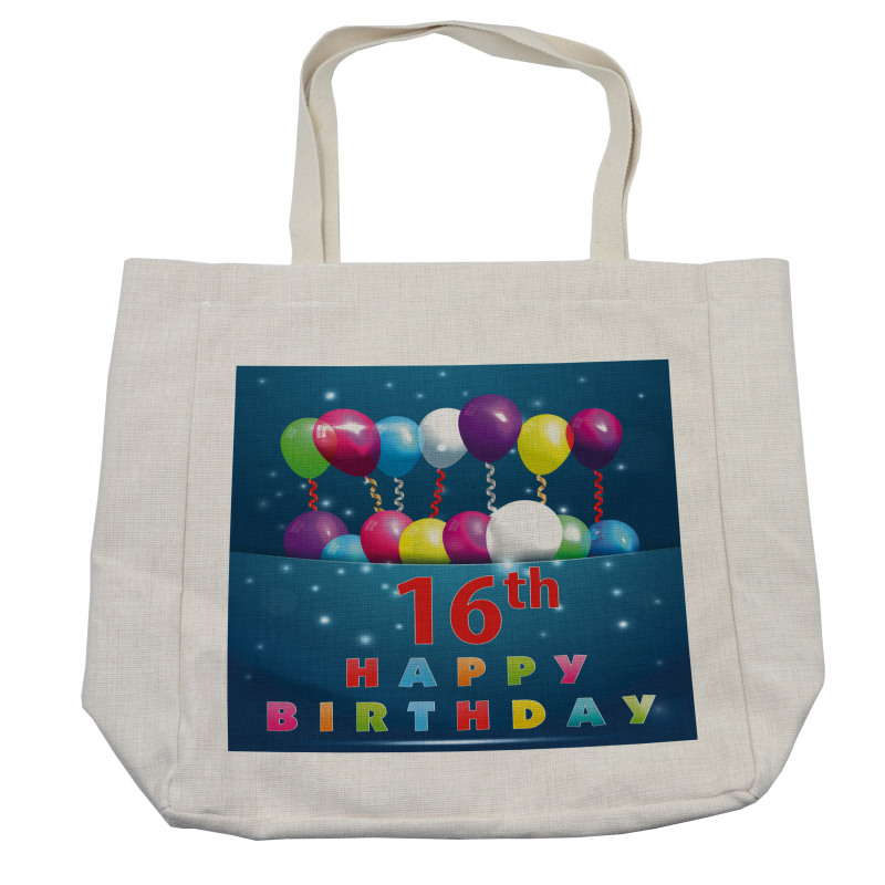 16 Party Shopping Bag