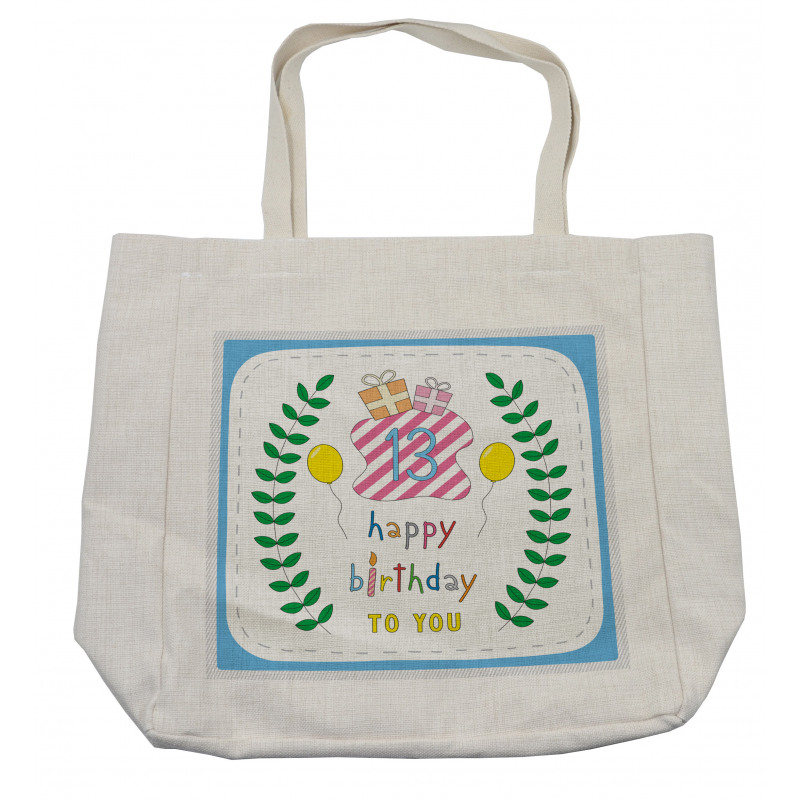 13th Birthday Gifts Shopping Bag