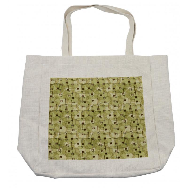 Abstract Autumn Garden Shopping Bag
