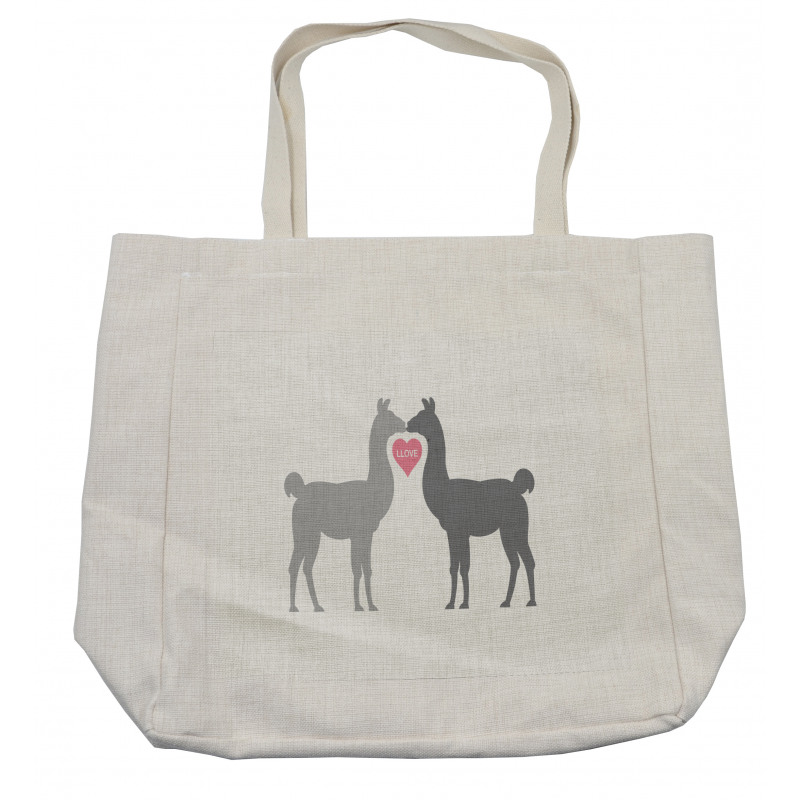 2 Animals in Love Shopping Bag