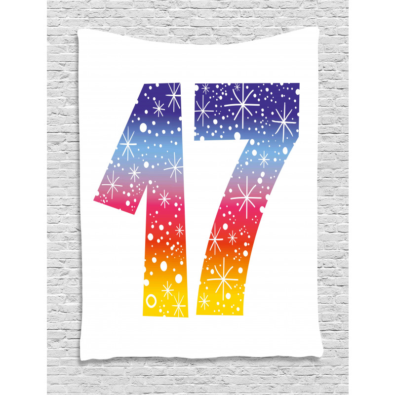 17 Party Tapestry
