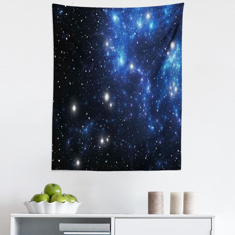 Mikrofiber Duvar Halısı Yıldızlar ve Uzay
