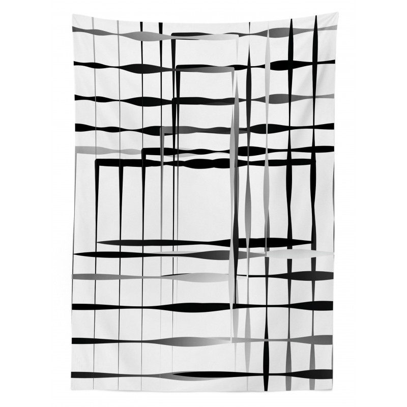 Abstract Art Geometric Tablecloth