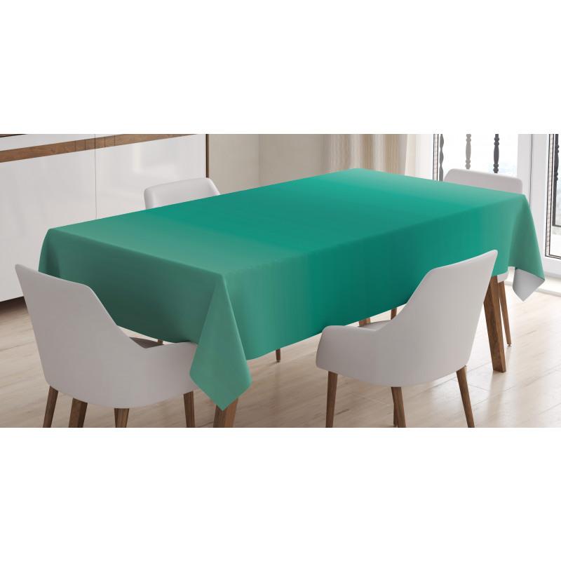 Masa Örtüsü Yeşilin Tonları