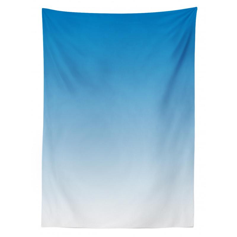 Masa Örtüsü Açık Mavi Desenli