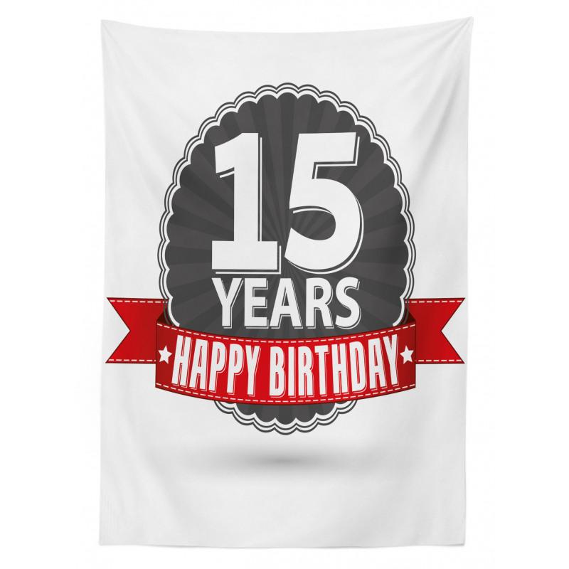 15 Emblem Tablecloth