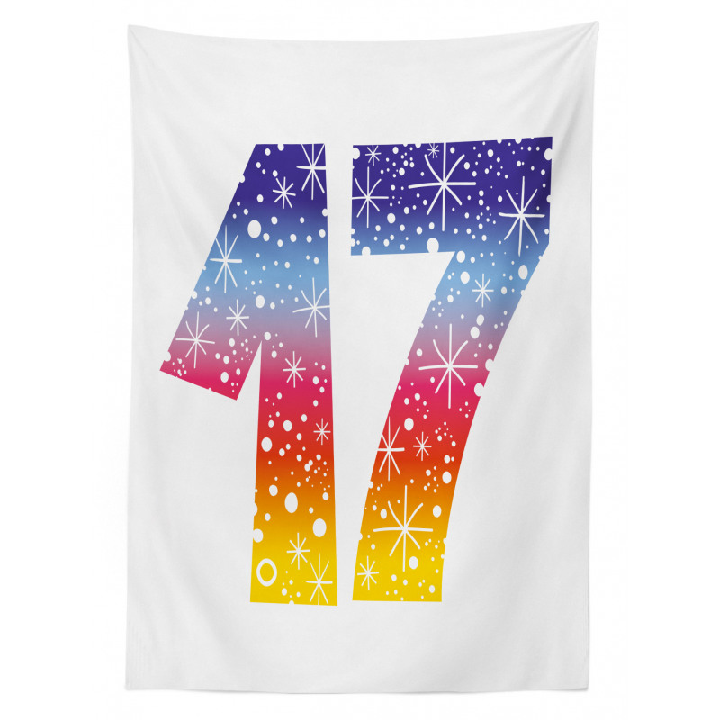 17 Party Tablecloth