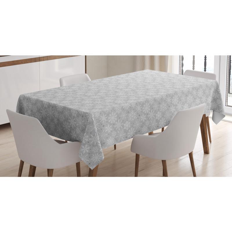 Snow Tablecloth