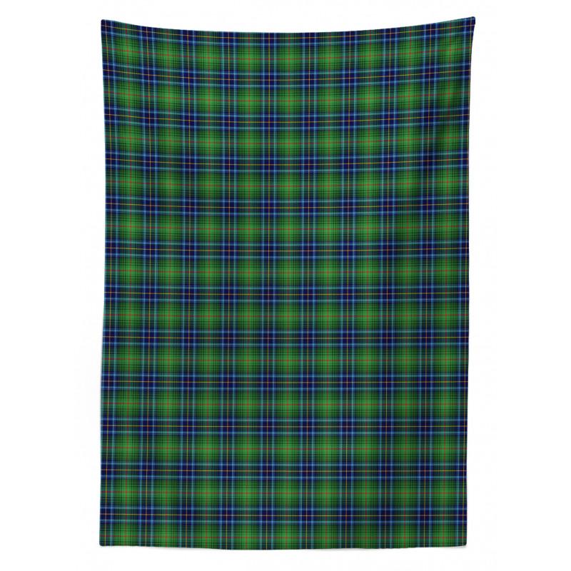 Grunge Vibrant Folkloric Tablecloth