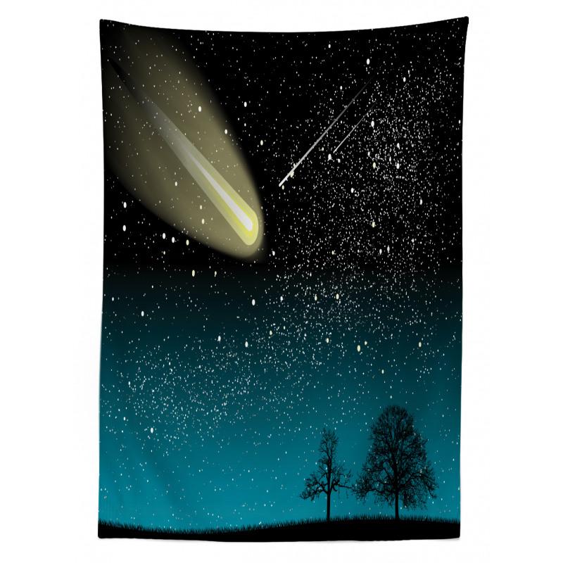 Shooting Stars at Night Tablecloth