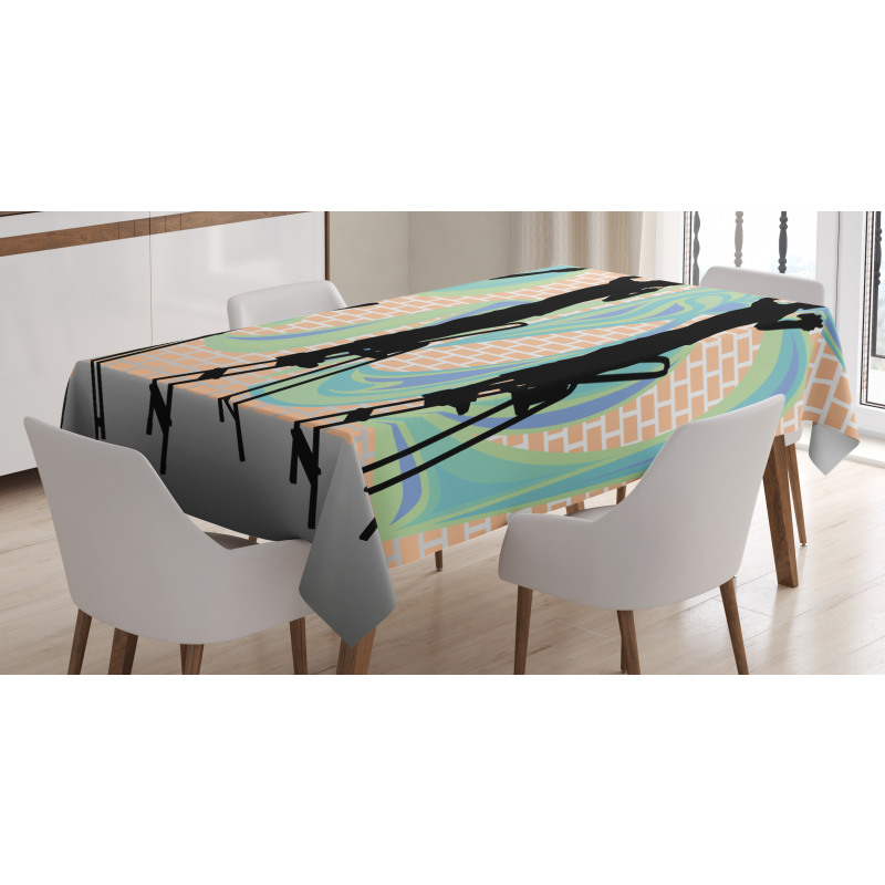 Graffiti Artist Tablecloth