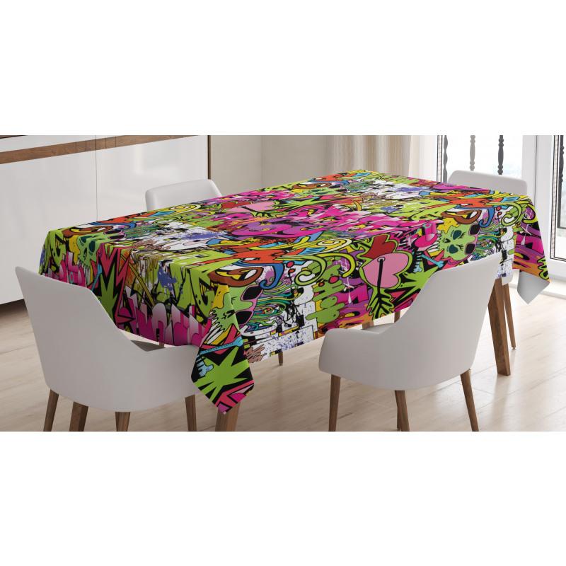 Pierced Hearts Tablecloth