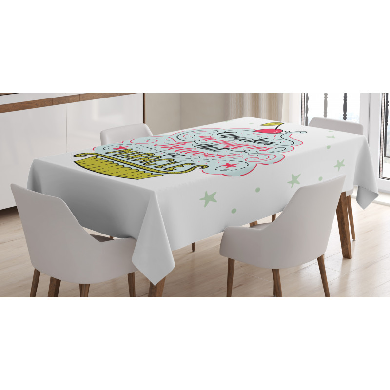 Cupcake Tablecloth