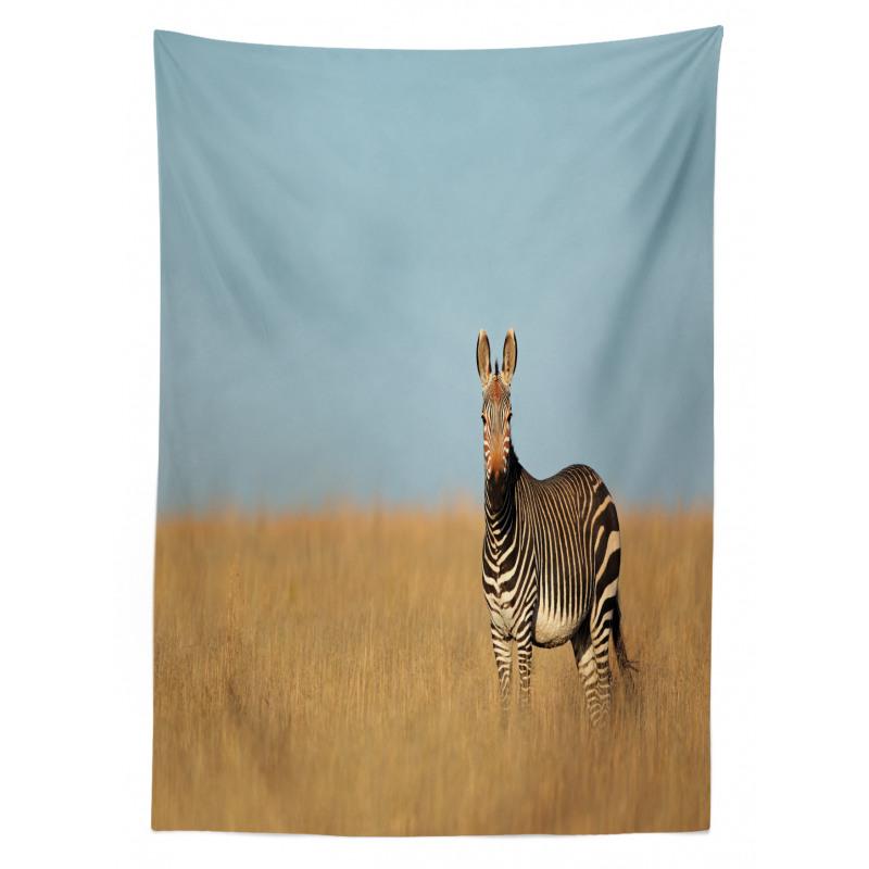 Zebra Mountain Grass Tablecloth