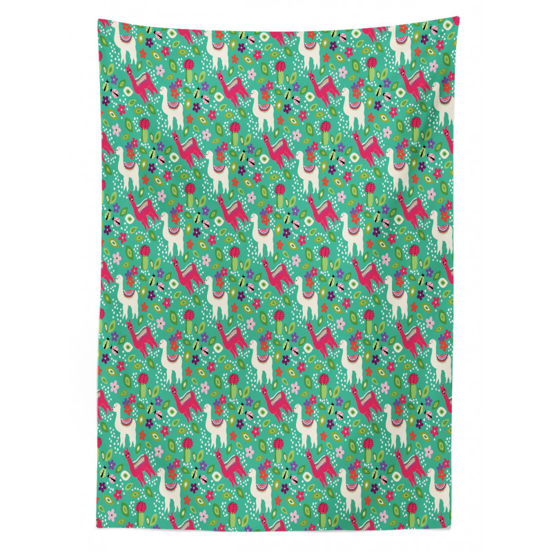 South American Fauna Tablecloth