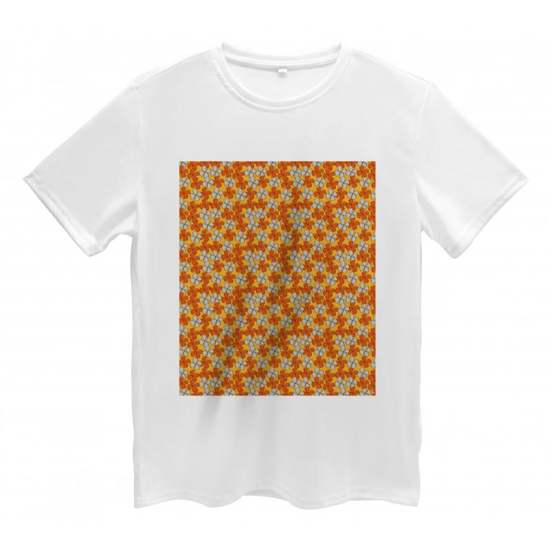 Abstract Autumn Flora Men's T-Shirt