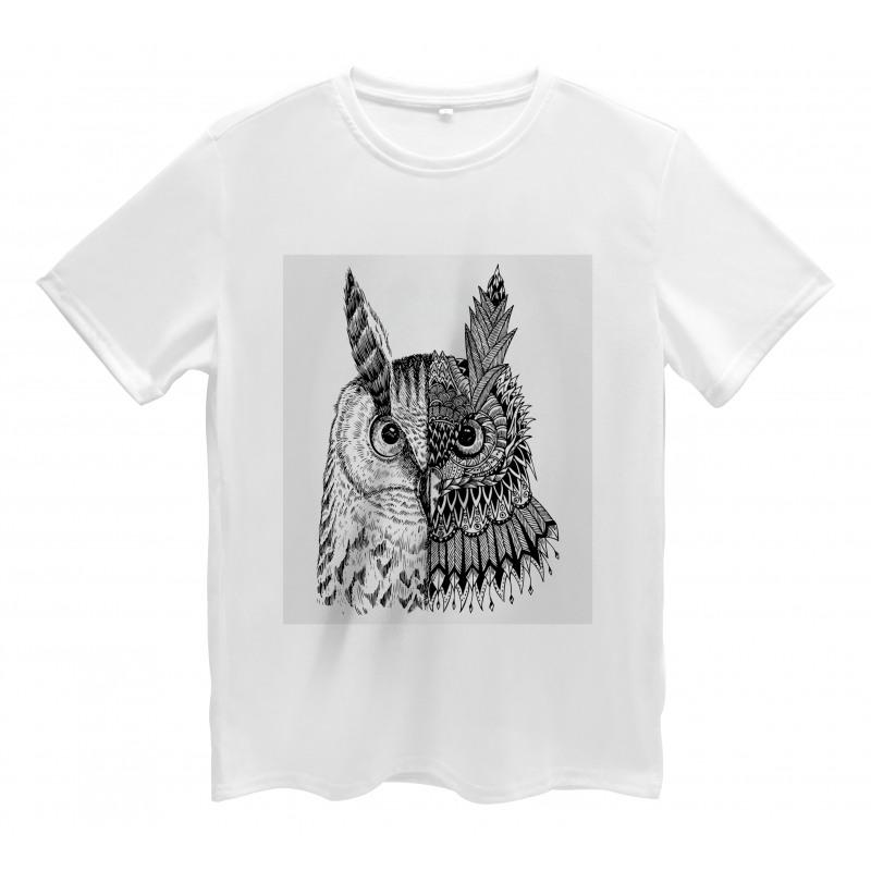 2 Animal Faces Design Men's T-Shirt