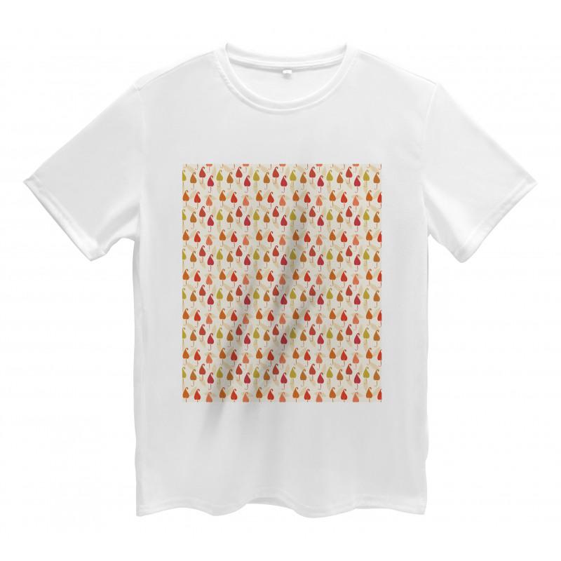Abstract Autumn Leaf Art Men's T-Shirt