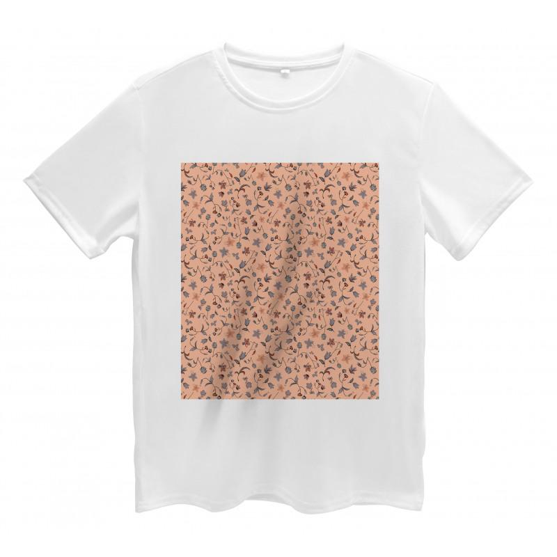 Abstract Autumn Botany Men's T-Shirt