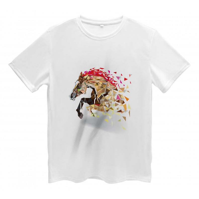 Abstract Art Wild Horse Men's T-Shirt