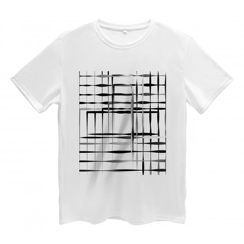 Abstract Art Geometric Men's T-Shirt