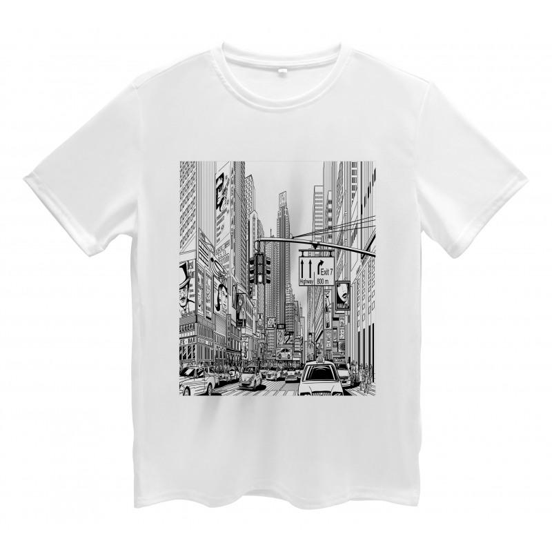 Downtown Manhattan Men's T-Shirt