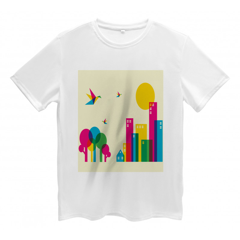 Cityscape Men's T-Shirt