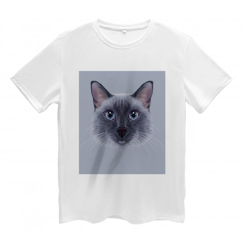 Siamese Cat Portrait Men's T-Shirt