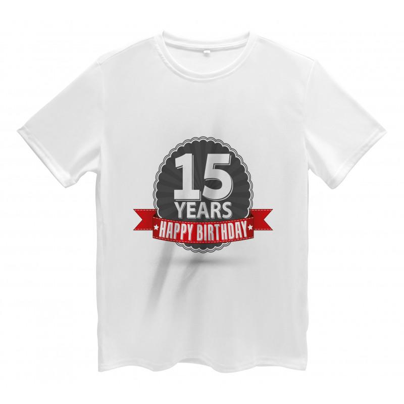 15 Emblem Men's T-Shirt