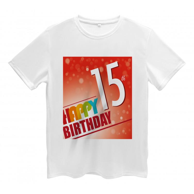 15th Birthday Concept Men's T-Shirt