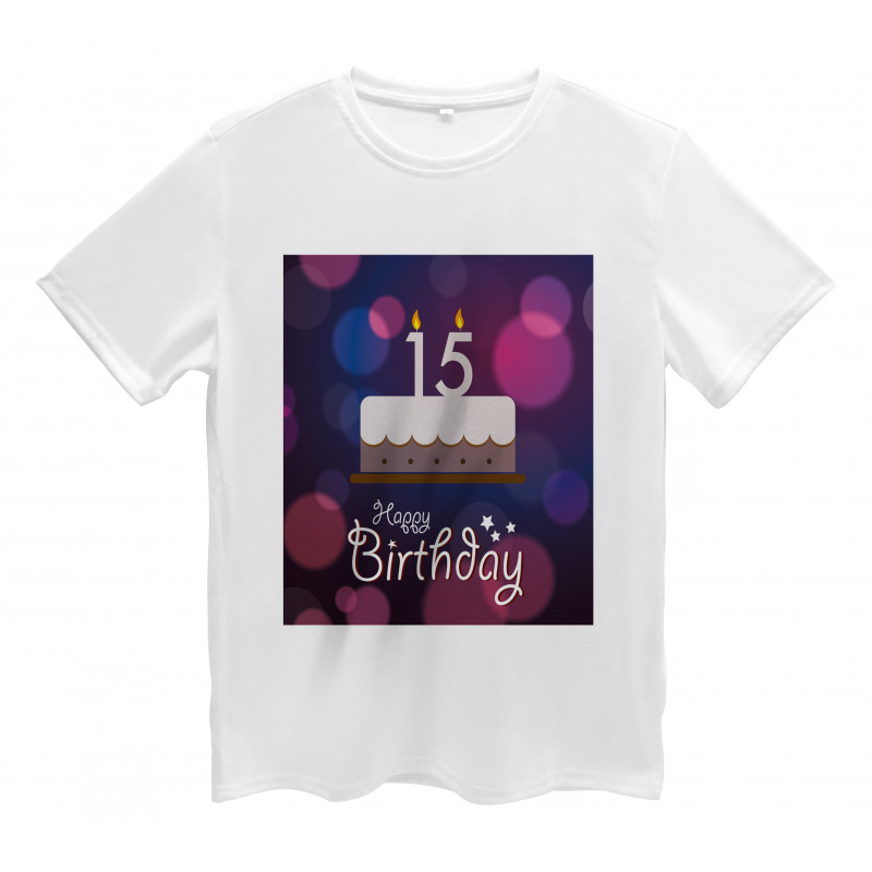 15 Birthday Cake Men's T-Shirt
